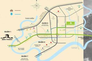 Location of Park Riverside Premium District 9