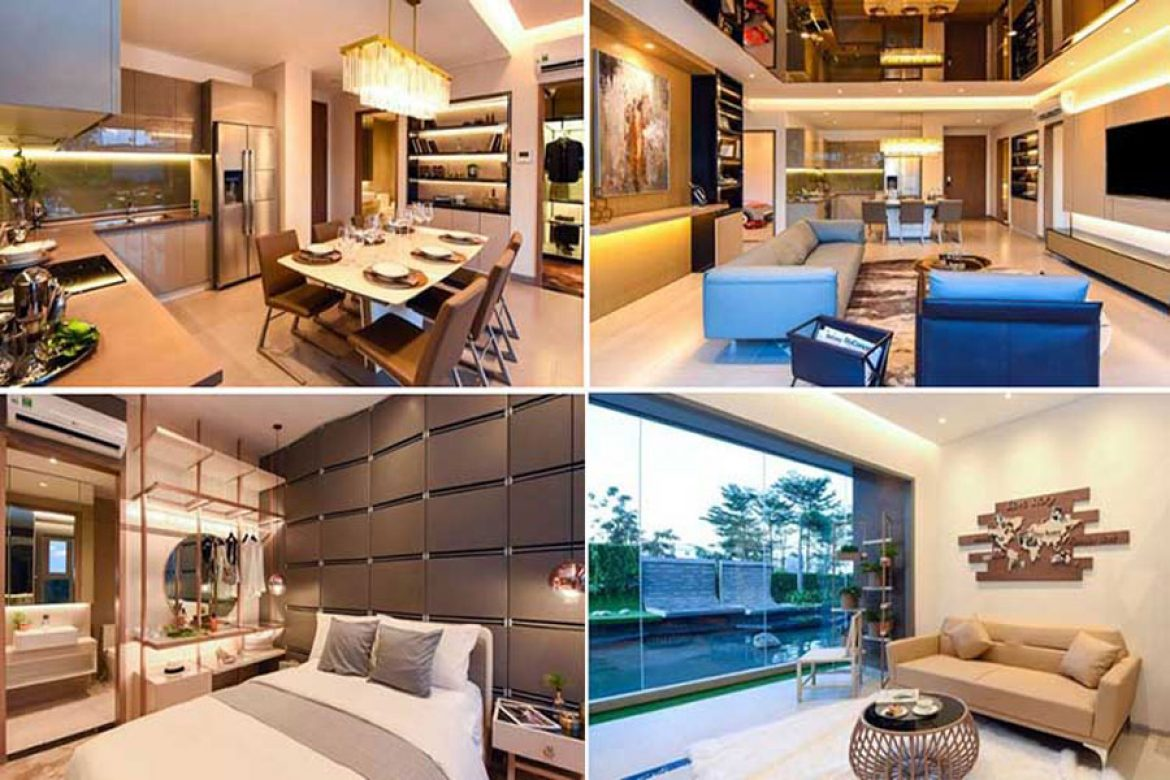 Model apartment at the project Sky 89 An Gia District 7