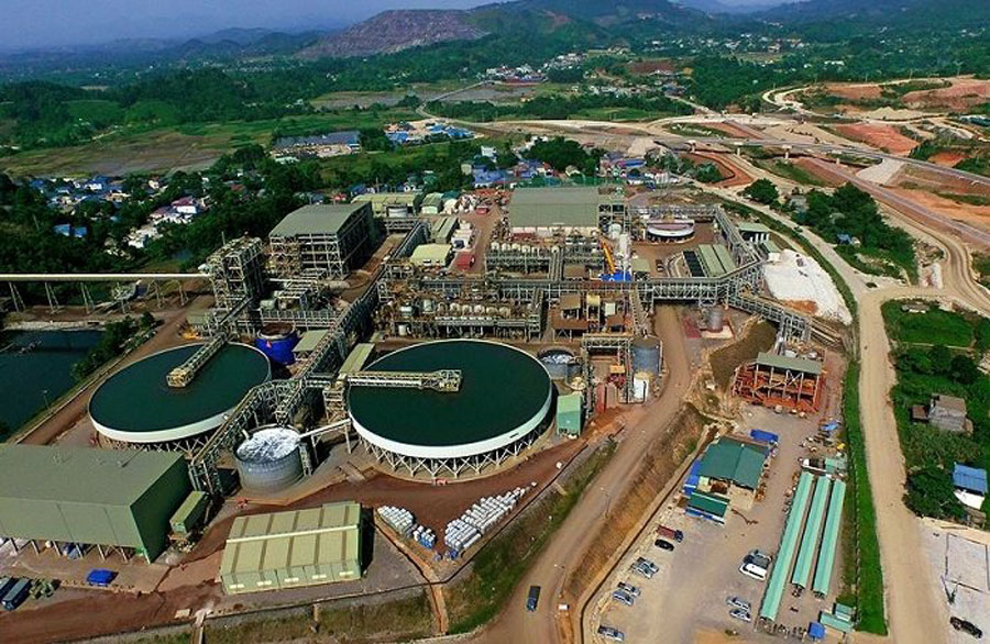 Nui Phao - one of 28 facilities under special control of environmental pollution