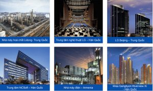Outstanding projects of GS E & C Group.