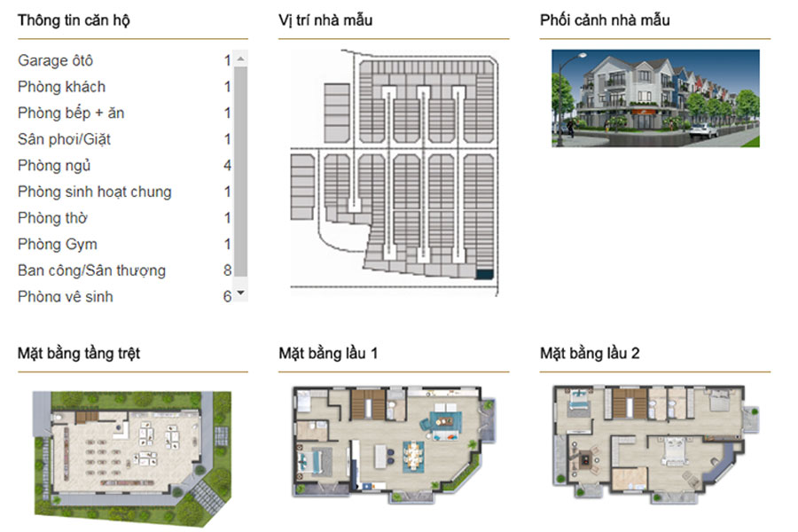 Single-unit villa DL6