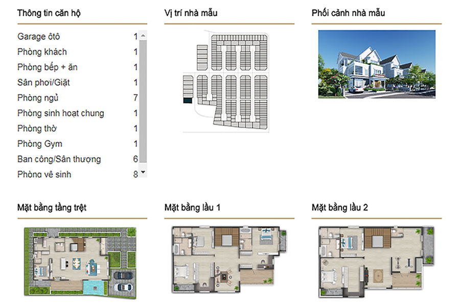 Single-unit villa DL4