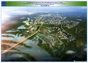 The detailed planning of Nhat Tan - Noi Bai route