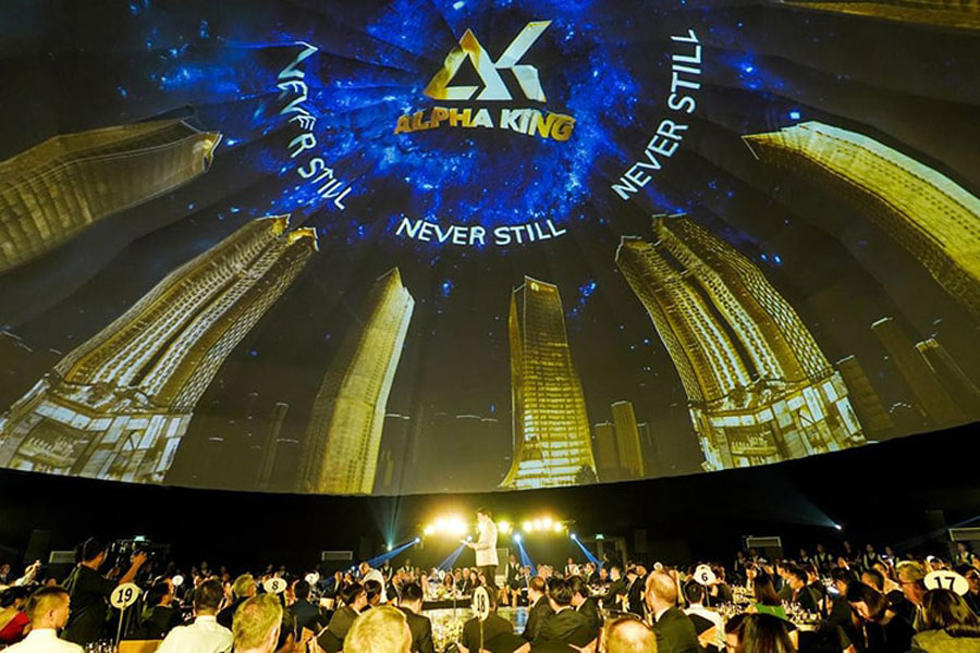 The launch event of Alpha King in Ho Chi Minh City