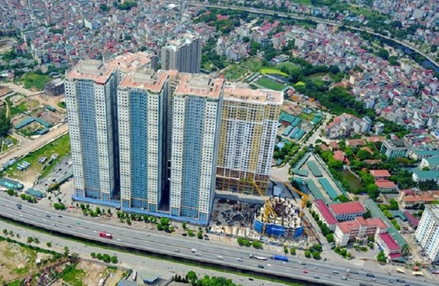 The project of Kim Van - Kim Lu new urban area
