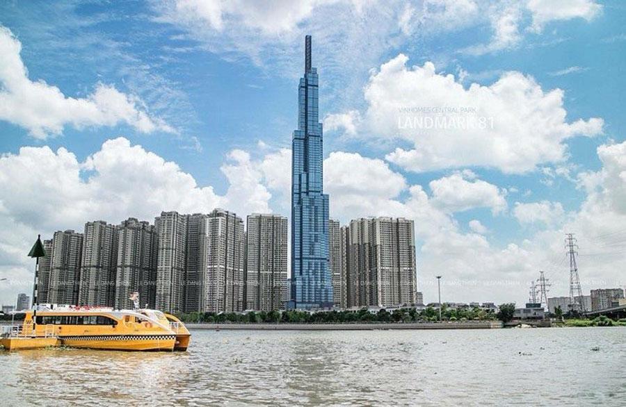 The tallest building in Vietnam - Landmark 81