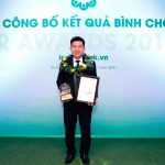 Khang Dien reached the top three listed companies with best IR performance in 2017