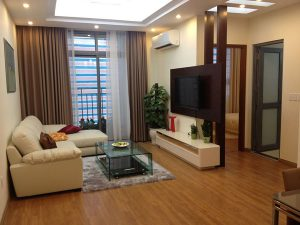 Two bedroom SouthGate Tower apartment with ample space