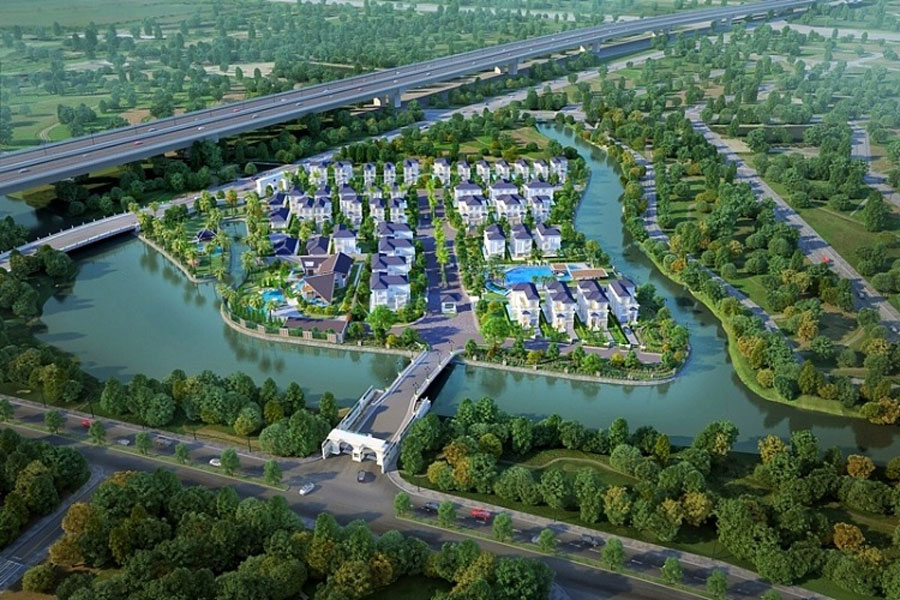 Overall perspective of the Venica project of Khang Dien investor.