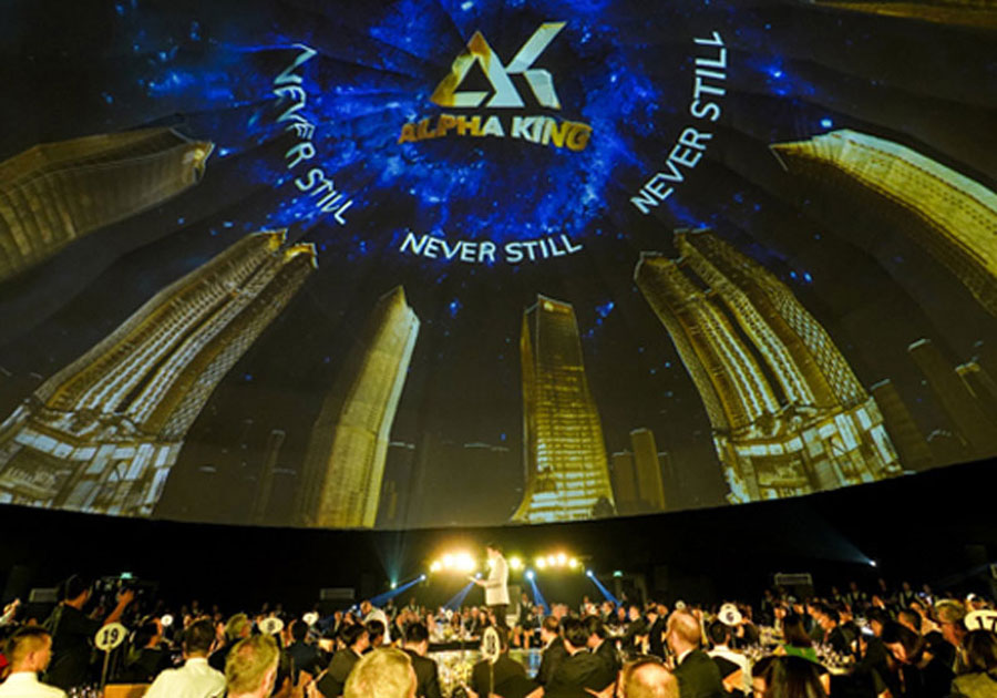 On July 25, 2018, the official announcement of Alpha King Vietnam's international real estate brand in Ho Chi Minh City.