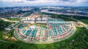 A new project likes Thu Thiem New Urban Area