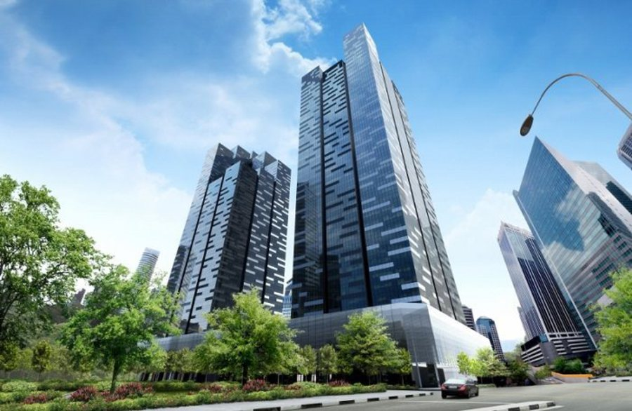 Asia Square Tower 2 - CapitaLand's $ 1.53 billion office tower