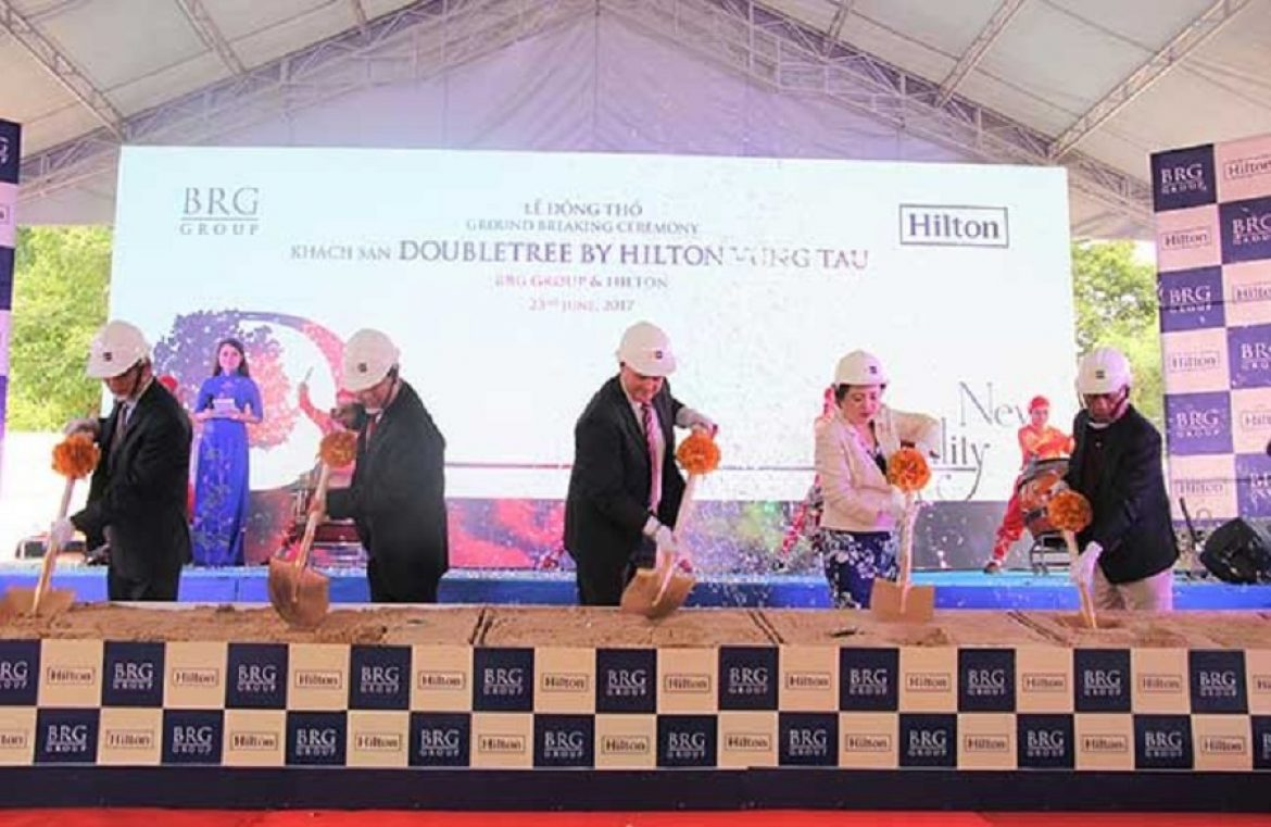 Ground Breaking Ceremony of DoubleTree by Hilton Vung Tau