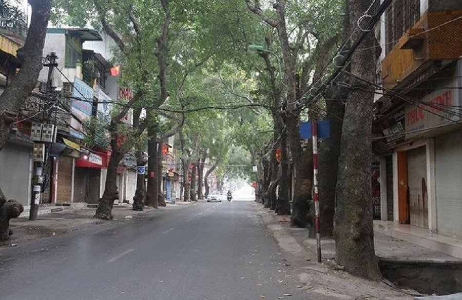 Hanoi People's Committee has just approved the red line of Ring Road 1 and De La Thanh