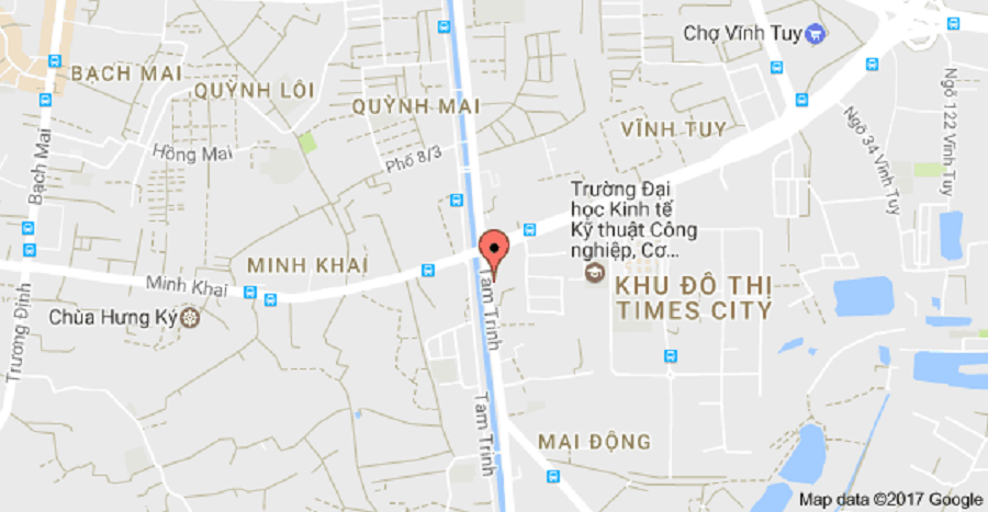Location of 75 Tam Trinh