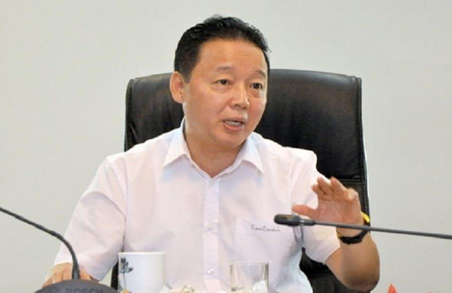 Minister of Natural Resources and Environment Tran Hong Ha