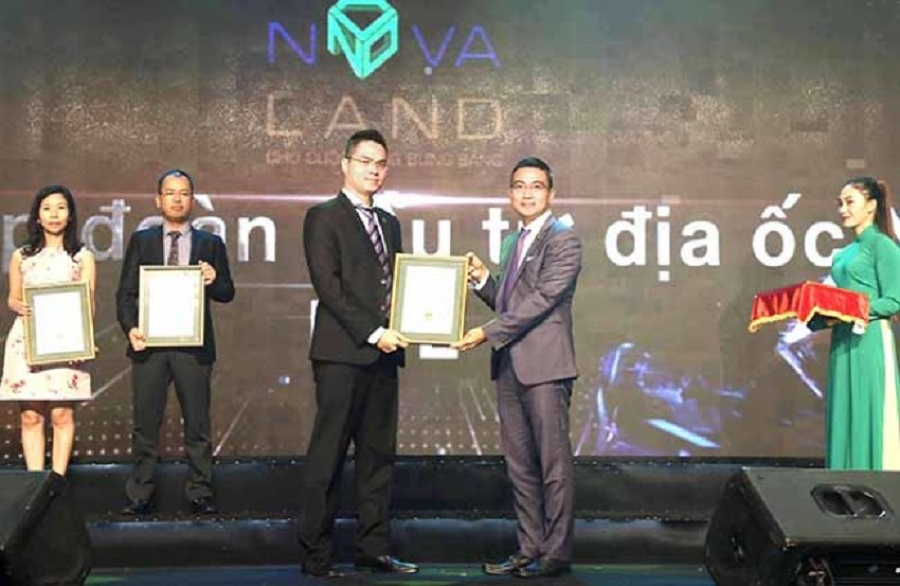 Novaland is to Top 10 Best Annual Report of 2017