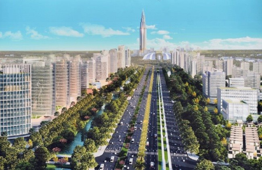 Perspective of Nhat Tan - Noi Bai route in the future