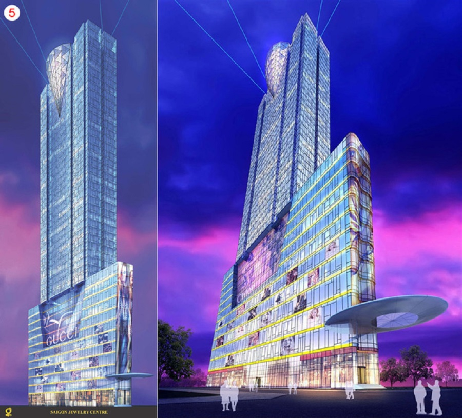 Perspective of SJC Tower Project