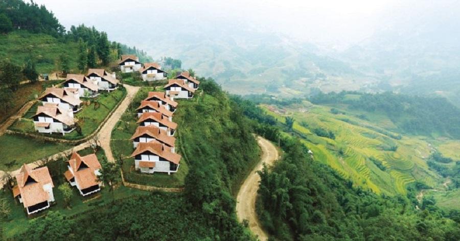 Real estate hill resort