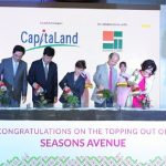 CapitaLand and the Citadel celebrate the ground breaking ceremony of the Seasons Avenue project