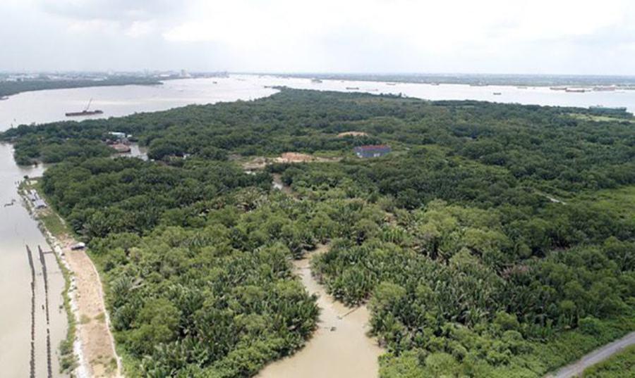 Saigon Peninsula project super project area.