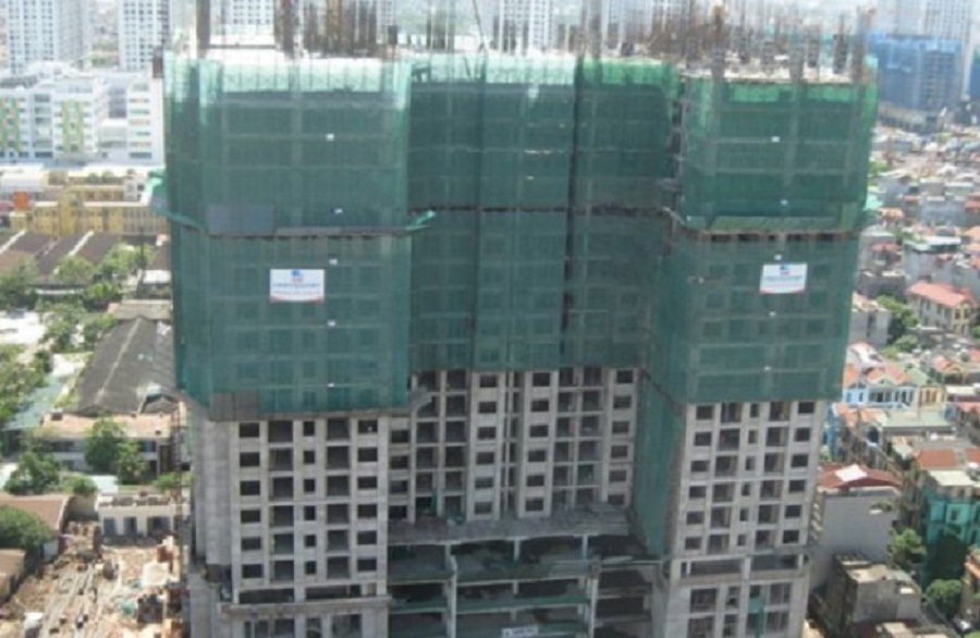 Suspended construction of 75 housing projects Tam Trinh