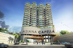 The Asiana Capella project is approved for construction