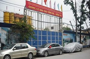 The Giang Vo B6 was upgraded to a 24 storey building with 342 flats