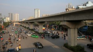 The current urban railway projects in Hanoi have been capitalized and delayed