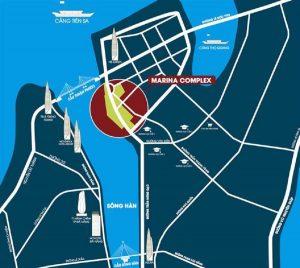 The top level strategic location of Marina Complex Da Nang