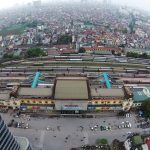 Planning for Hanoi Railway Station: 40 to 70 stories high