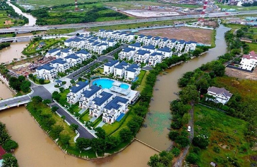 Villa, townhouse near HCMC is attracting the attention of customers