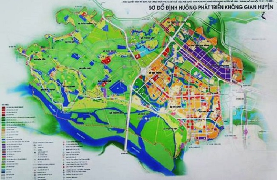 26 plots of land in Tam Dong commune, Me Linh district have the auction starting at only 2.4 million m2
