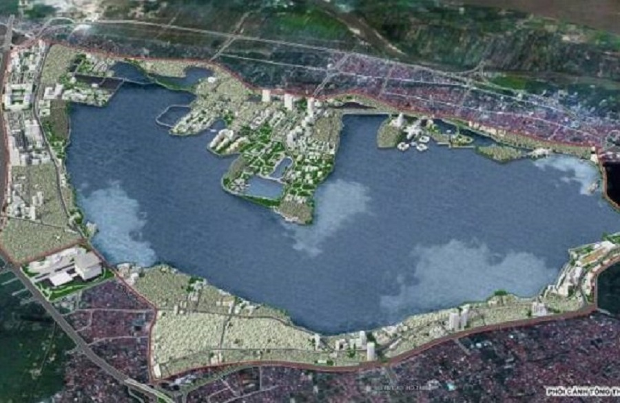 The urban planning of the West Lake has just been adjusted locally