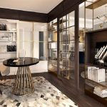 Unique design style, elegance of the grand manhattan 3 -bedroom apartment