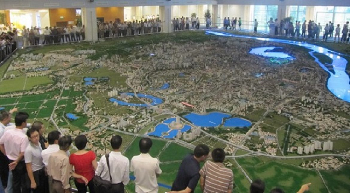 Urban planning for the West Lake and surrounding area was approved in August 2014