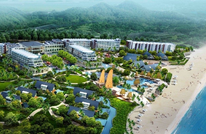 Quang Ninh resort near the 16ha
